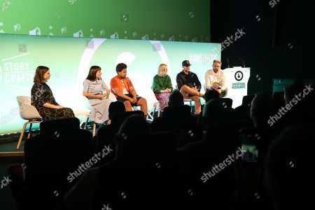 Sara McCorquodale (Founder and CEO, CORQ), Kate Ormerod (Editor, Work Work Work), Elijah Quashie (Food Vlogger and Critic, Chicken Connoisseur), Alex Stedman (Freelance Fashion Editor, The Frugality), Anthony Richardson (Founder & CEO, Q-83 Technology & AusFit) and Oliver Lewis (Managing Director, The Fifth)