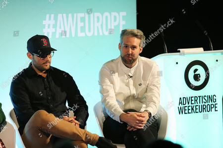 Stock Photo of Anthony Richardson (Founder & CEO, Q-83 Technology & AusFit) and Oliver Lewis (Managing Director, The Fifth)
