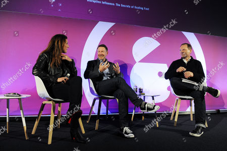 Editorial photo of From Start-up to Fortune 500: Building Disruptive Brands in the Digital Age, Ad Shapers Stage, Advertising Week Europe, Picturehouse Central, London, UK - 18 Mar 2019