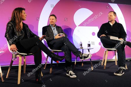 Jill Kramer (Managing Director - Advertising, Accenture), Mike Fox (CMO, Culture Trip) and Jason Fairchild (Co-Founder, OpenX)