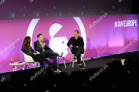 Editorial image of From Start-up to Fortune 500: Building Disruptive Brands in the Digital Age, Ad Shapers Stage, Advertising Week Europe, Picturehouse Central, London, UK - 18 Mar 2019