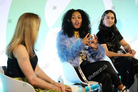 Jade Pearl (Influencer/Creator, Whalar), Sofia Salazar (Creator/Influencer, Whalar) and Clym Evernden (Creator/Influencer, Whalar)