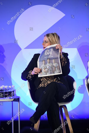 Editorial picture of Women's Sport: Kick-Starting a Revolution, Impact Makers Stage, Advertising Week Europe, Picturehouse Central, London, UK - 18 Mar 2019