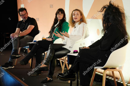 Editorial picture of The Intersection of Creativity and Artificial Intelligence, Tech Stars Stage, Advertising Week Europe, Picturehouse Central, London, UK - 18 Mar 2019