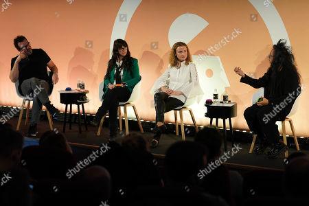 Daniel Bonner (Global Chief Creative Officer, Wunderman), Debbie Vavangas (iX Leader UK & Ireland, IBM iX), Milka Kramer (Sales Director, UK, Bing) and David Shing (Digital Prophet, Verizon Media)
