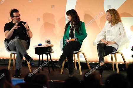 Daniel Bonner (Global Chief Creative Officer, Wunderman), Debbie Vavangas (iX Leader UK & Ireland, IBM iX), Milka Kramer (Sales Director, UK, Bing)
