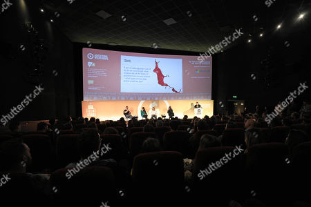 Stock Picture of Daniel Bonner (Global Chief Creative Officer, Wunderman), Debbie Vavangas (iX Leader UK & Ireland, IBM iX), Milka Kramer (Sales Director, UK, Bing) and David Shing (Digital Prophet, Verizon Media)