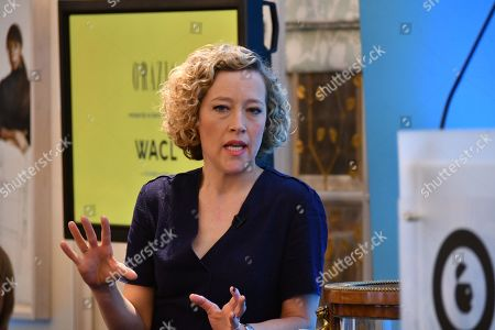 Stock Photo of Cathy Newman (News presenter, Channel 4 News)