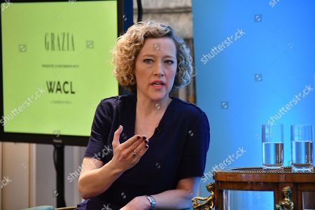 Stock Image of Cathy Newman (News presenter, Channel 4 News)
