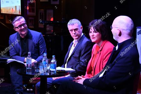 James Murphy (Founder Group CEO, adam&eveDDB), Moray MacLennan (Worldwide CEO, M&C Saatchi), Janet Hull (OBE Promote UK Chair and Director of Marketing Strategy, IPA) and Sir William Sargent (CBE CEO and Co-founder, Framestore)