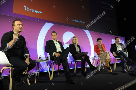 James Harding, Simon Reed (Commercial Directo, Kelkoo Group), Jessica Butcher MBE (Co-Founder, Tick, Blippar), Julia Hobsbawm (Founder, Editorial Intelligence), Andy Hart (C-Suite Business Consultant, Light-hearted Holdings)