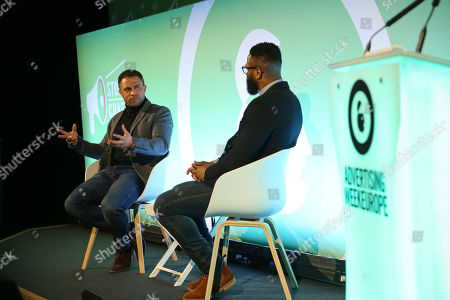 Jason Robinson OBE (Rugby Champion) and Ugo Monye (Sports Commentator and Former Rugby Player)