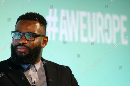 Editorial picture of The Comeback Kid: Jason Robinson OBE in Conversation, Story Crafters Stage, Advertising Week Europe, Picturehouse Central, London, UK - 19 Mar 2019