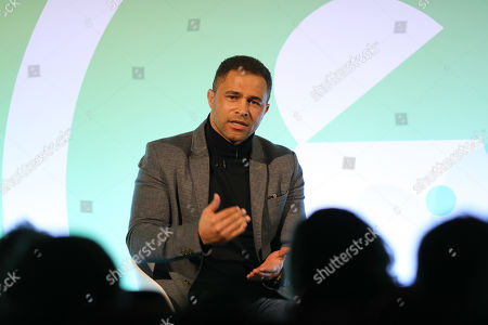 Stock Photo of Jason Robinson OBE (Rugby Champion)