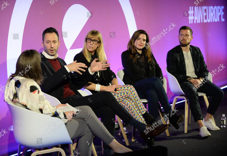 Tina Aird (Head of UK Marketing, Bing Ads UK, Microsoft), Joshua Graff (Senior Director, LinkedIn Marketing Solutions, EMEA, LinkedIn), Caroline Casey (Founder, Valuable), Gemma Greaves (Chief Executive, The Marketing Society), Richard Miles (Creative Director, Therapy Agency)
