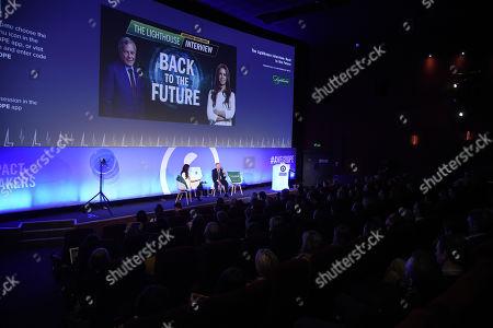 Kathleen Saxton (CEO & Founder, The Lighthouse Company) and Sir Martin Sorrell (Executive Chairman, S4 Capital)