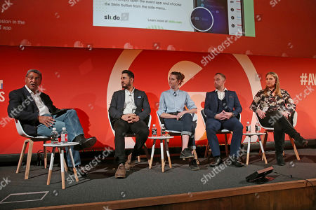 Chris Babayode (Managing Director EMEA, Mobile Marketing Association), Carl Carter (Head of Marketing strategy and Effectiveness, IRI), Amy Williams (CEO, Good-Loop), Pete O'Mara Kane (GM, International, LoopMe) and Celine Saturnino (Chief Commercial Officer, Total Media)