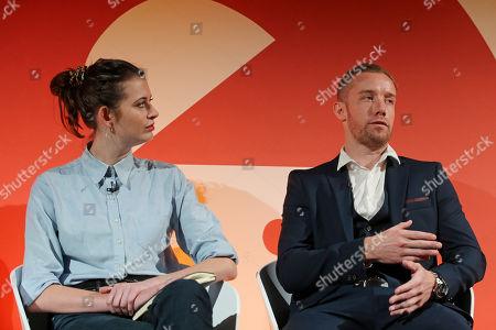 Amy Williams (CEO, Good-Loop) and Pete O'Mara Kane (GM, International, LoopMe)
