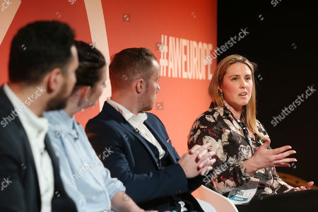 Carl Carter (Head of Marketing strategy and Effectiveness, IRI), Amy Williams (CEO, Good-Loop), Pete O'Mara Kane (GM, International, LoopMe) and Celine Saturnino (Chief Commercial Officer, Total Media)