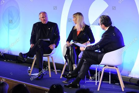 Stock Picture of Paul Polman (Chief Executive Office of Unilever) (Chief Executive Office of Unilever) (Chief Executive Office of Unilever) (Chief Executive Office of Unilever) (Former CEO, Unilever), Caroline Casey (Founder, Valuable), Michael Hayman (Co-founder, Seven Hills)