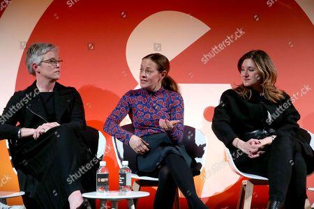 Clare Lawson (Chief Customer Officer of Ogilvy), Anna Watkins (Managing Director, Verizon Media) and Cristina Constandache (CRO, Rakuten Viber)