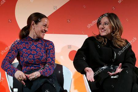 Anna Watkins (Managing Director, Verizon Media) and Cristina Constandache (CRO, Rakuten Viber)