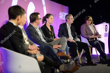 Editorial image of Moving Beyond Transparency Towards Trust: Aligning Interests of Agencies & Advertisers, Ad Shapers Stage, Advertising Week Europe, Picturehouse Central, London, UK - 20 Mar 2019