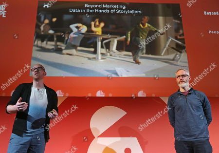 Liam Walsh (Creative Technology Director, Nexus Studios) and Colin Davis (Executive Producer, Nexus Studios)