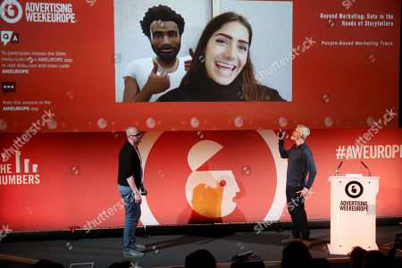 Editorial photo of Beyond Marketing; Data in the Hands of Storytellers, By The Numbers Stage Advertising Week Europe, Picturehouse Central, London, UK - 20 Mar 2019