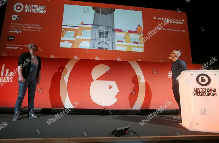 Editorial image of Beyond Marketing; Data in the Hands of Storytellers, By The Numbers Stage Advertising Week Europe, Picturehouse Central, London, UK - 20 Mar 2019