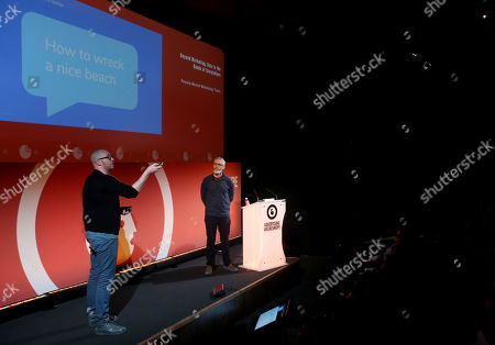 Stock Image of Liam Walsh (Creative Technology Director, Nexus Studios) and Colin Davis (Executive Producer, Nexus Studios)
