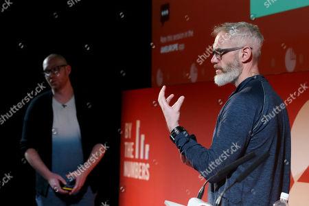 Stock Photo of Liam Walsh (Creative Technology Director, Nexus Studios) and Colin Davis (Executive Producer, Nexus Studios)