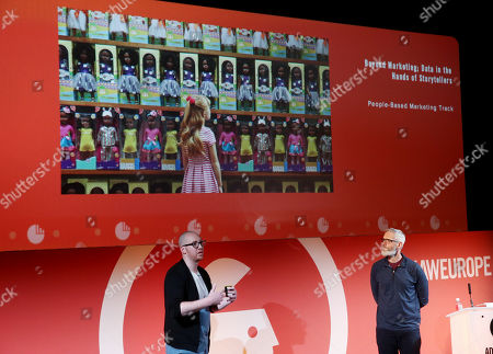 Editorial picture of Beyond Marketing; Data in the Hands of Storytellers, By The Numbers Stage Advertising Week Europe, Picturehouse Central, London, UK - 20 Mar 2019