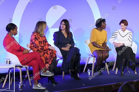 Natalie Campbell (Author, Businesswoman, Podcast host of Badass Women?s Hour), Claire Sanderson (Editor in Chief, Women?s Health Hearst), Farrah Storr (Editor in Chief, Cosmopolitan Hearst), Kimberley Wilson (Psychologist Specialising in Whole Body Mental Health) and Elizabeth Day (Parenting Consultant of Mothercare)