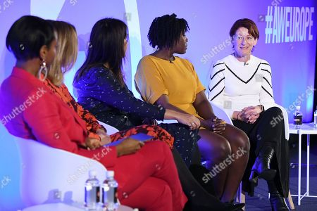 Natalie Campbell (Author, Businesswoman, Podcast host of Badass WomenÕs Hour), Claire Sanderson (Editor in Chief, WomenÕs Health Hearst), Farrah Storr (Editor in Chief, Cosmopolitan Hearst), Kimberley Wilson (Psychologist Specialising in Whole Body Mental Health) and Elizabeth Day (Parenting Consultant of Mothercare)