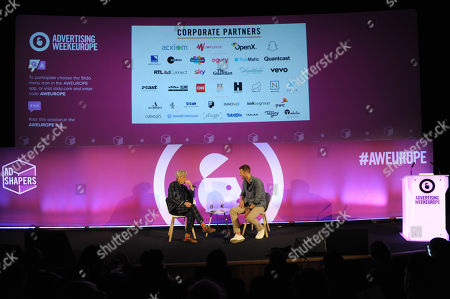 Editorial photo of The Creative Disruption, Ad Shapers Stage, Advertising Week Europe, Picturehouse Central, London, UK - 21 Mar 2019