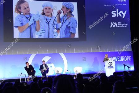 The CMO Panel - Julian Diment, Ottokar Rosenberger (CMO, Web Reservations International) and Kerry Taylor