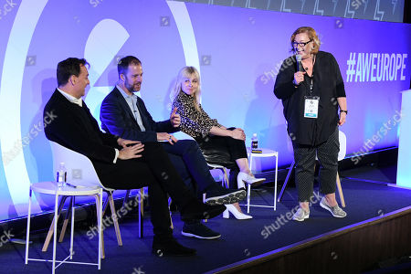 The CMO Panel - Julian Diment, Ottokar Rosenberger (CMO, Web Reservations International), Kerry Taylor and Sherilyn Shackell (Founder & CEO, The Marketing Academy)