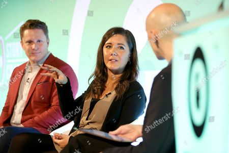 Patrick Givens (VP, Head of VaynerSmart, VaynerMedia), Steff Preyer (Business Director, Rabbit & Pork) and James Chandler (CMO, IAB UK)