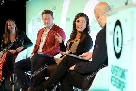 Claire Grinton (VP, Global Head of Experience Strategy, Essence), Patrick Givens (VP, Head of VaynerSmart, VaynerMedia), Steff Preyer (Business Director, Rabbit & Pork) and James Chandler (CMO, IAB UK)