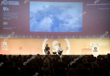 Editorial image of Advertising in the Intelligent Era, Tech Stars Stage, Advertising Week Europe, Picturehouse Central, London, UK - 21 Mar 2019