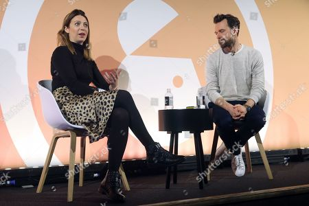 Stock Picture of Emily Henderson (Head of Media, EMEA, Google) and Andrew Shebbeare (Co-Founder & Chairman, Essence)