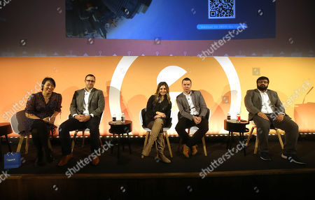 Carol Reed (SVP, Global Buyer Develpment, OpenX), Tom Mills (Global Programmatic Director, GSK), Nicole Estebanell (Global MD, Neo), Paul Dalton (Chief Media Officer, International, DigitasLBi), Amir Malik (Digital Marketing Expert, Accenture Interactive)