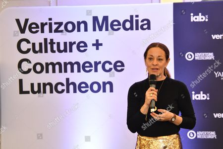 Editorial photo of Verizon Media Culture and Commerce Lunch, Advertising Week Europe, Fortnum & Mason, Picturehouse Central, London, UK - 21 Mar 2019