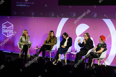 Francine Stock (Presenter, The Film Programme), Mia Bays (Producer, Sundance: London), Clare Binns (Joint Managing Director, Picturehouse Cinemas), Stephen Woolley (Producer, Number 9 Films) and Terri White (Editor-In-Chief, Empire, Bauer Media)