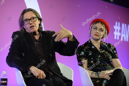 Stephen Woolley (Producer, Number 9 Films) and Terri White (Editor-In-Chief, Empire, Bauer Media)
