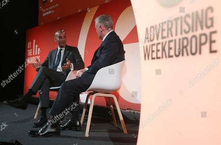 Editorial picture of Live With The Independent Group, By The Numbers Stage, Advertising Week Europe, Picturehouse Central, London, UK - 18 Mar 2019