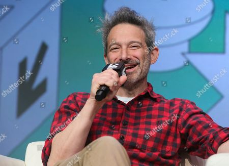 The Beastie Boys' Adam Horovitz takes part in a keynote conversation at the Austin Convention Center during the South by Southwest Music Festival, in Austin, Texas