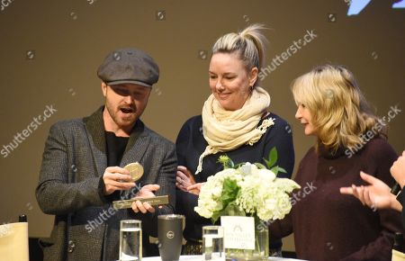 Editorial photo of 2019 Sun Valley Film Festival Pioneer Award given to Aaron Paul, 'Coffee Talk', Sun Valley, USA - 15 Mar 2019