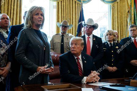 Editorial photo of Trump Border Security, Washington, USA - 15 Mar 2019